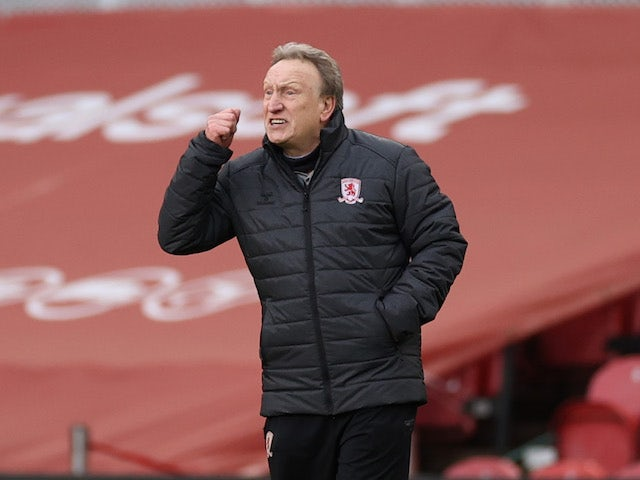 Neil Warnock, Middlesbrough manager, photographed on January 16, 2021