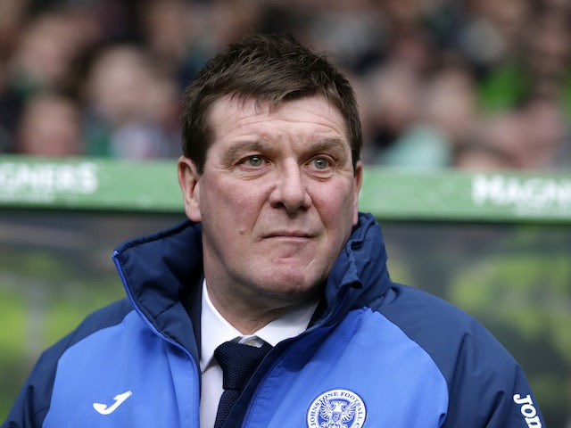 St Johnstone manager Tommy Wright, photographed in January 2016