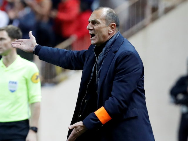 Montpellier manager Michel Der Zakarian, photographed in February 2020