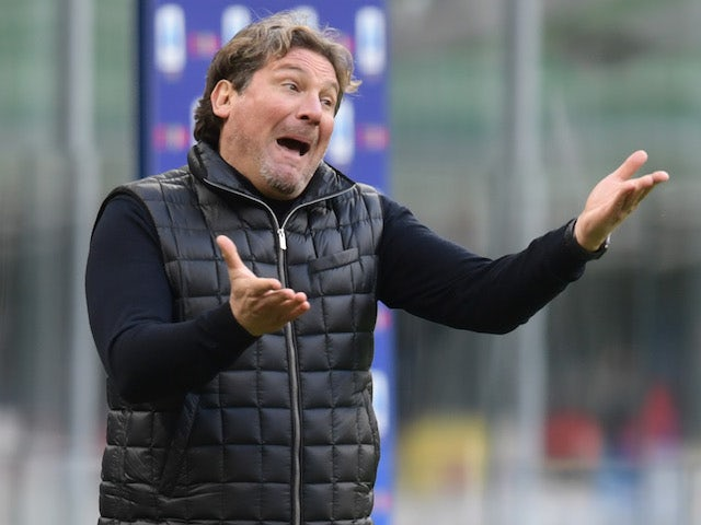 Crotone manager Giovanni Stroppa, photographed in January 2021
