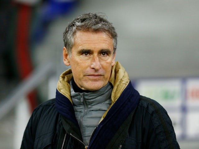Brest coach Olivier Dall'Oglio, photographed in January 2020