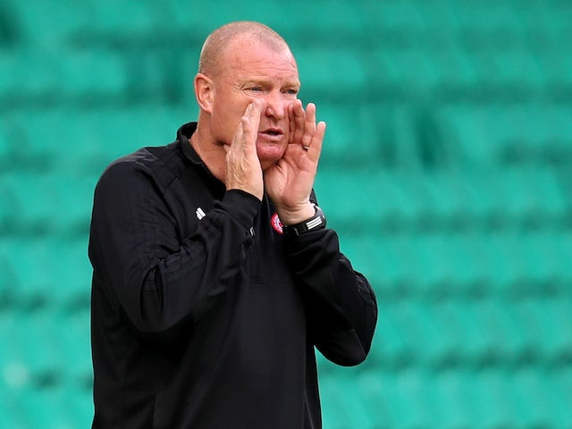 Brian Rice, manager of Hamilton Academical, photographed in August 2020